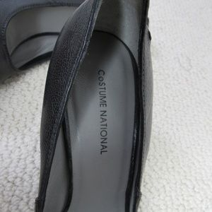 Costume National Shoes - Costume National Wedge Shoes Womens 37 Black